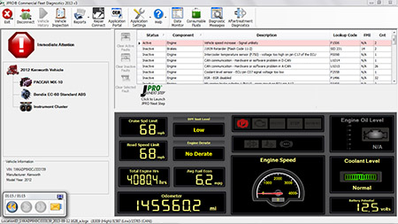 Noregon JPRO Commercial Fleet Diagnostics 2016 v2.3