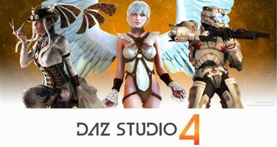 DAZ Studio Pro v4.9.0.63 English + Extra Addons + Portable Win/Mac