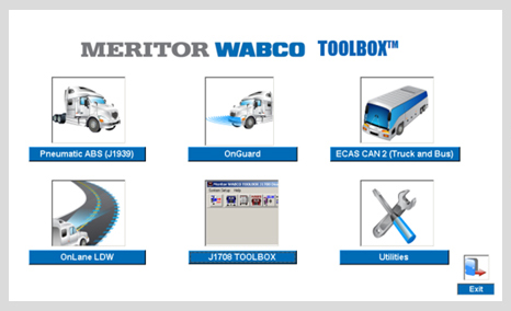 Meritor WABCO TOOLBOX 12.3 English + Activator