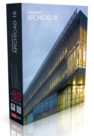 Graphisoft ArchiCAD v18 + MEP Modeler English & Spanish WinMac