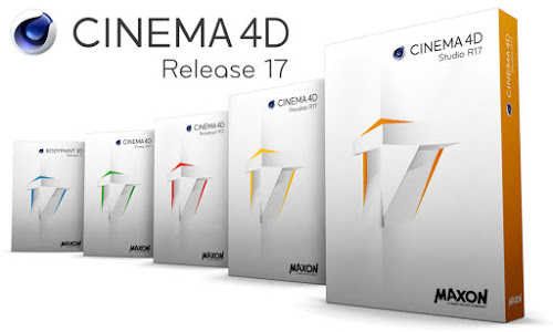 Maxon CINEMA 4D Studio R17 Multilanguage Win/Mac