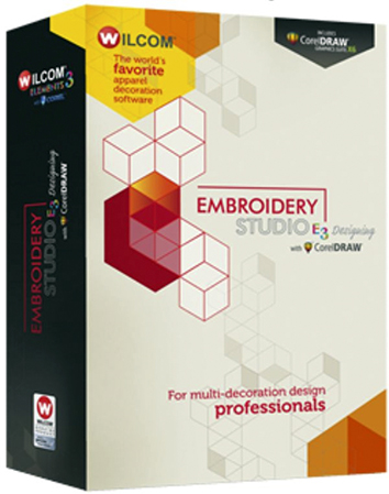 Wilcom Embroidery Studio (ES) E3 Multilanguage