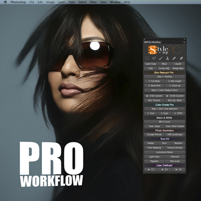 StyleMyPic Pro Workflow Panel v2.0 for Photoshop Win/Mac