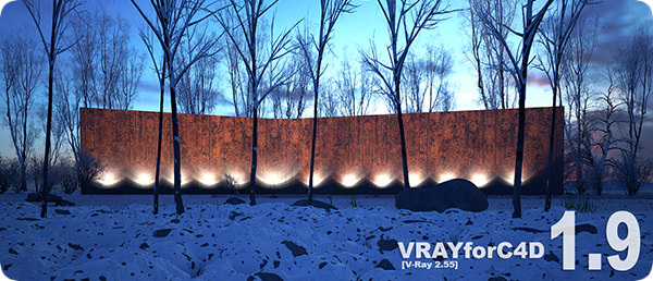 V-Ray 1.9 for Cinema 4D R12-R17 Win/Mac 32-64 bit