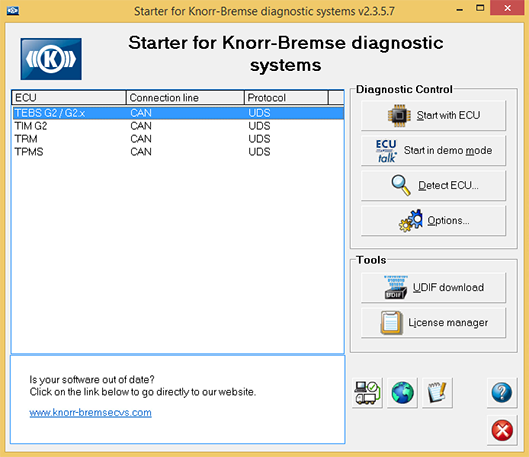 Knorr-Bremse Diagnostic Systems