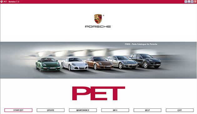 Porsche PET 7.3 Update 426 + Prices [08.2017] Multilingual