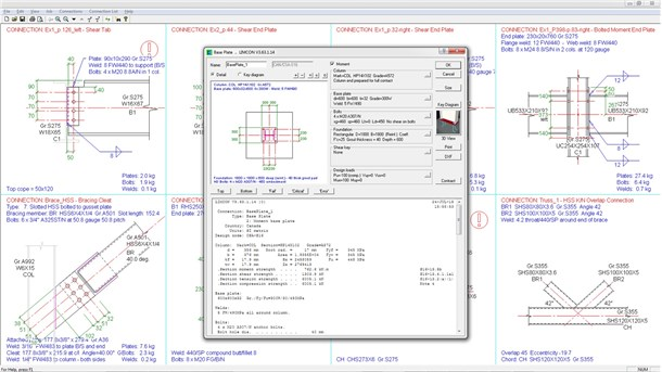 limcon steel connection design software free download