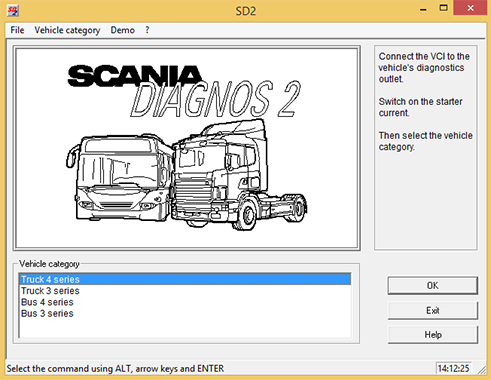 Scania SD2 2.36.45 Multilanguage coobra.net
