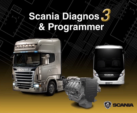 Scania SDP3 2.27.0 Multilingual + Dongle Emulator