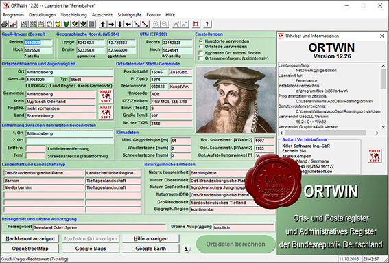 Killetsoft ORTWIN 12.26 Multilingual