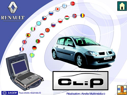 Renault CAN Clip v190 [08.2019] Multilingual + Patch