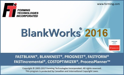 FTI BlankWorks 2016.0 for SolidWorks 2010-2018 (32-bit or 64-bit)