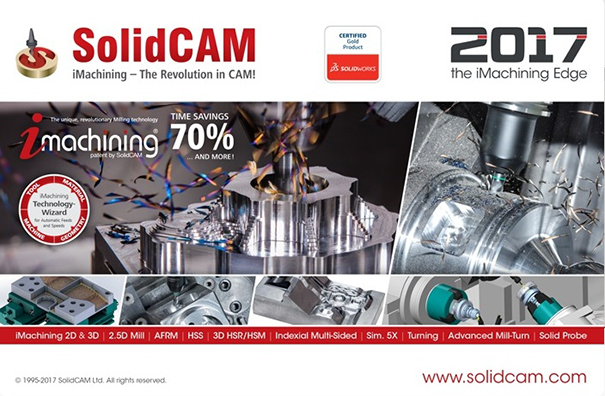 SolidCAM 2017 SP1 HF2 Multilingual for SolidWorks 2012-2018 64-bit