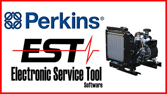 Perkins EST (Electronic Service Tool) 2018A Multilingual + Activator
