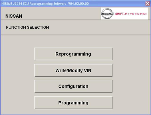 Nissan J2534 ECU Reprogramming Software (Nissan NERS) v04.03.00 Multilingual