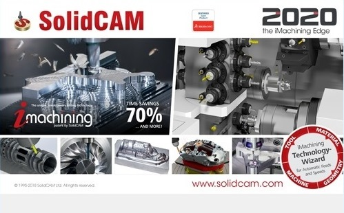 SolidCAM 2020 SP1 HF1 Multilingual for SolidWorks 2012-2020 64-bit