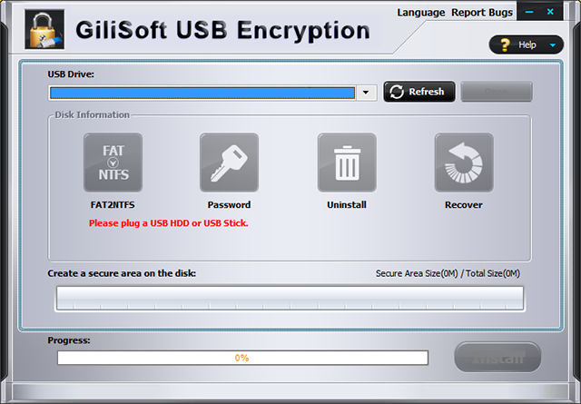 GiliSoft USB Encryption v10.0.0 Multilingual + Keymaker