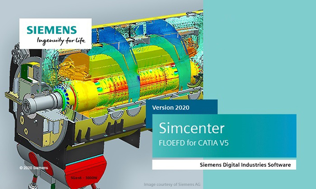 Siemens Simcenter FloEFD 2020.1.0 for CATIA V5 Multilingual 64-bit
