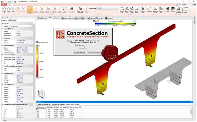 IES ConcreteSection v2.00.0002 English 64-bit