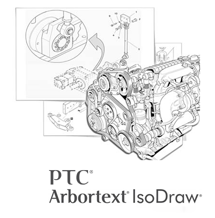 PTC Arbortext IsoDraw 7.3 M100 Multilingual 32-bit