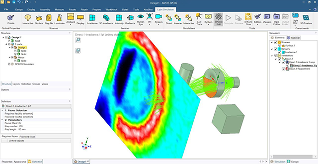 ANSYS SPEOS 2020 R2 for Siemens NX 11.0-1899 Series English 64-bit