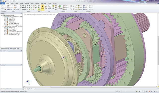 ANSYS SpaceClaim 2020 R2 Multilingual 64-bit