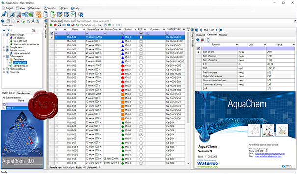 Waterloo Hydrogeologic AquaChem 9 build 17.20.0220.6 English 32-bit