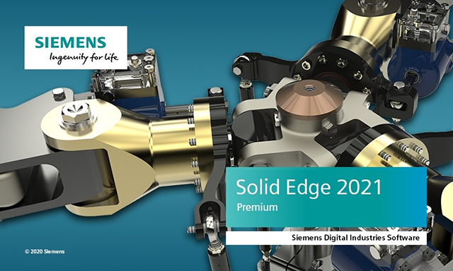 Siemens Solid Edge 2021 Standard Parts English 64-bit