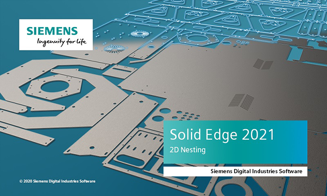Siemens Solid Edge 2D Nesting 2021 English 64-bit