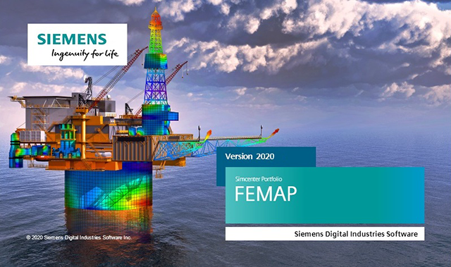 Siemens Simcenter FEMAP 2021.1.0 with NX Nastran Multilingual 64-bit