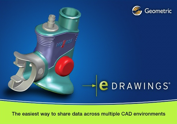Geometric eDrawings Pro Suite for CATIA V5, Solid Edge, Inventor, NX, Pro/ENGINEER, Creo