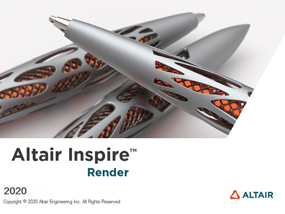 Altair Inspire Render 2020.1.1 English 64-bit